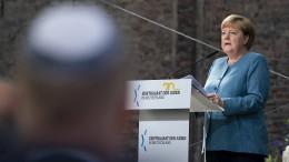 """Merkel von Juden-Hass in Deutschland """"zutiefst beschämt"""""""