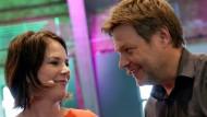 Stehen für die neuen Grünen: die Parteivorsitzenden Annalena Baerbock und Robert Habeck.