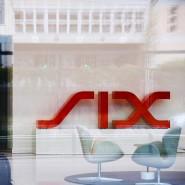 Vor der Schweizer Börse Six: Änderungen in deren Leitindex sind selten.