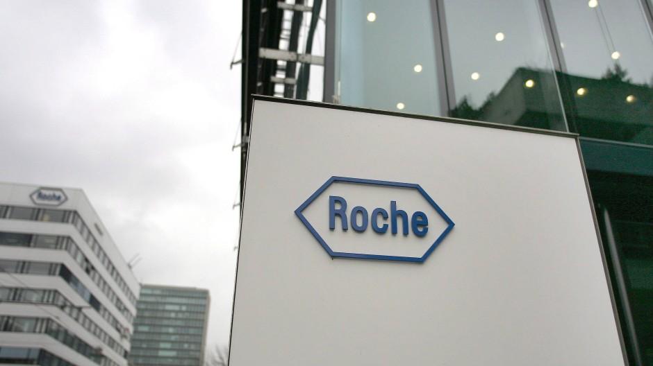 Pharmahändler Roche in Basel, Schweiz