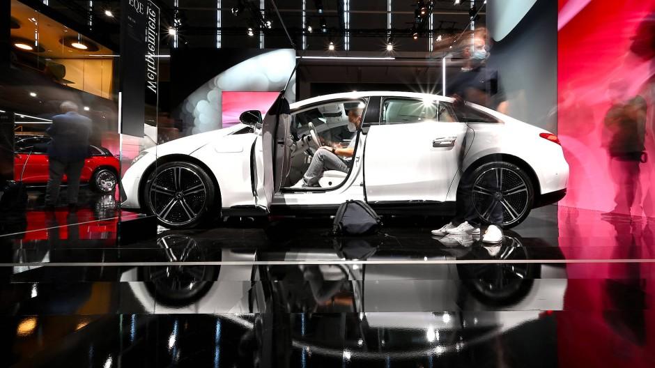 IAA in München: Der neue EQE von Mercedes