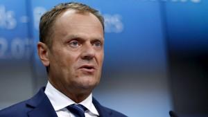 Tusk warnt vor ideologischer Spaltung Europas
