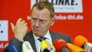 Wird Ramelow erster Linken-Ministerpräsident?
