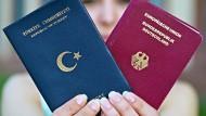 Staatsbürgerin mit zwei Pässen