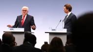 Außenminister Steinmeier und sein österreichischer Kollege Kurz trafen schon am vergangenen Freitag in Hamburg aufeinander
