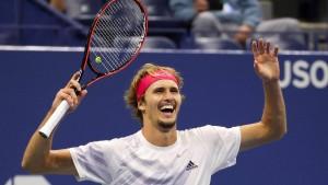 Zverev erreicht zum ersten Mal Grand-Slam-Finale