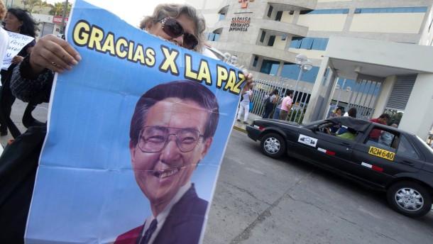 Keine Gnade für Fujimori