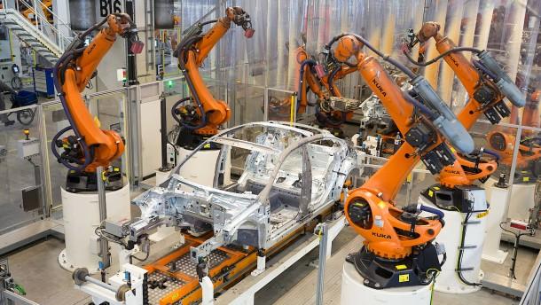 Roboter erobern die Industrie