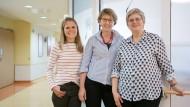 Ansprechpartnerinnen in der Not: Esther Thiessen, Susanne Trusheim und Elisabeth Knecht