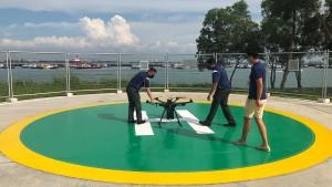 Singapur will Schiffe über Drohnen versorgen