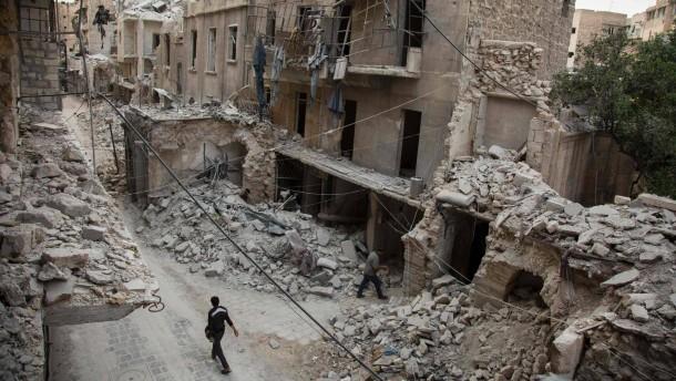 Zwei Tage Waffenruhe für Aleppo