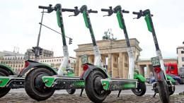 Städte planen Sperrzonen für E-Tretroller