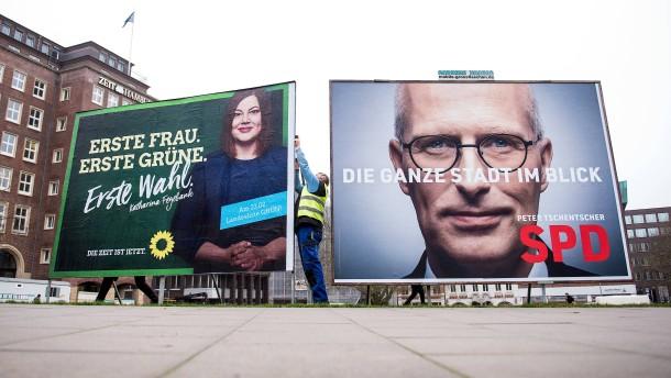 Das erwartet Sie heute zur Bürgerschaftswahl in Hamburg