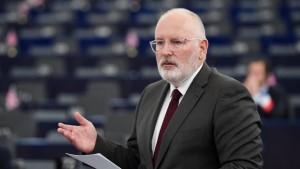 Niederländer Timmermans wird sozialdemokratischer Spitzenkandidat