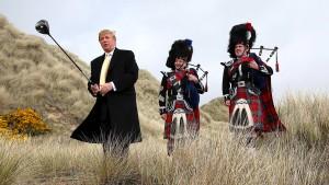 Die ganz eigene Golfwelt des Donald Trump