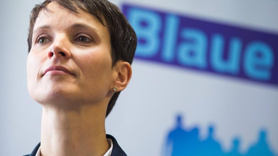 Frauke Petrys Blaue Partei: Zurück in den Hinterzimmern