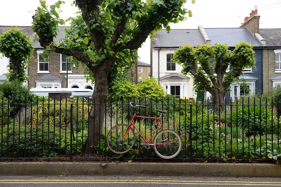 Private Grünflächen sind in London selten und entsprechend teuer.