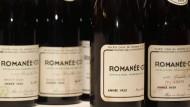 Auch Weine der Domaine Romanée-Conti wurden gefälscht. Die auf dem Foto sind allerdings echt - soweit wir wissen.