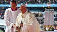 Besuch von Papst Franziskus beendet