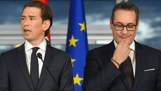 Kurz schließt offenbar weitere Zusammenarbeit mit FPÖ-Chef aus