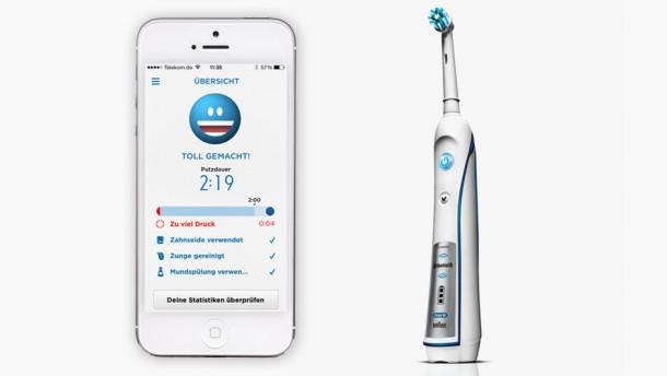 Bluetooth für weiße Zähne