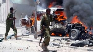 Zehn Tote bei Anschlag in Mogadischu