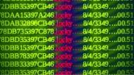 Der zu Demonstrationszwecken erstellte verfremdete Screenshot eines mit dem Trojaner Locky infizierten Windows-PC.