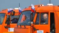 Putin fährt auf die Krim
