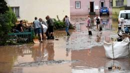 Wieder schwere Unwetter in Süddeutschland