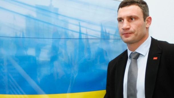 Klitschko wünscht Merkel-Besuch