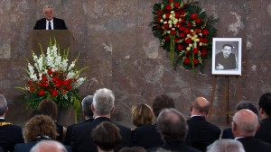 Gedenkfeier für Frank Schirrmacher