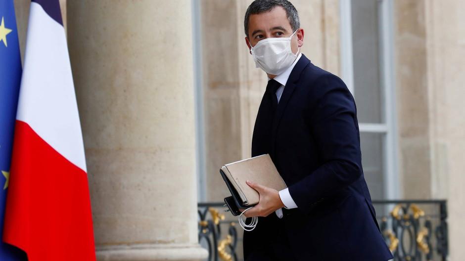 Frankreich Innenminister Gerald Darmanin am Montag in Paris