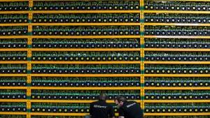 Bitcoin steigt auf mehr als 5500 Dollar