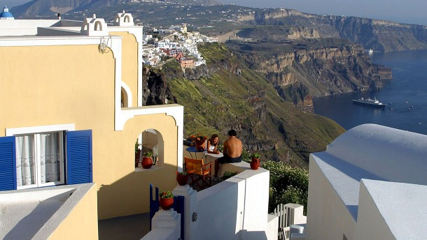 Tourismus in Griechenland floriert