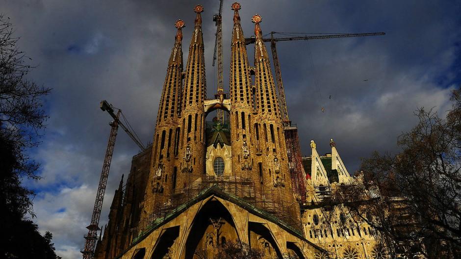 Never-ending Story: Ob die Sagrada Familia tatsächlich im Jahr 2026 fertig wird, ist noch offen.