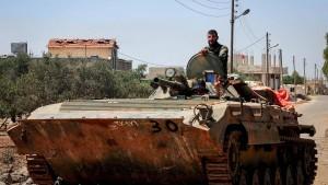 Regierung und Rebellen vereinbaren offenbar Waffenruhe