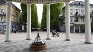 Zum Flanieren gemacht: Die Hauptallee im niedersächsischen Bad Pyrmont – mit geringer Motorkraft ist sie auch befahrbar.
