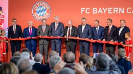 FC Bayern eröffnet Talentschmiede