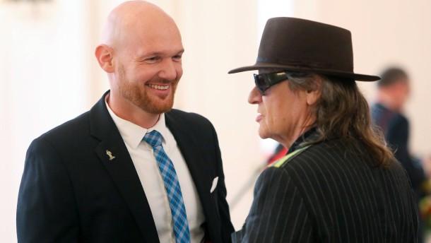 Udo Lindenberg und Alexander Gerst erhalten Verdienstorden