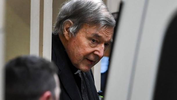 Kardinal George Pell aus dem Gefängnis entlassen