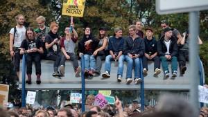 Ist das Party oder Protest?
