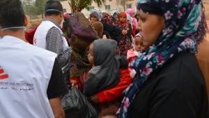 """Entwicklungsminister erinnert an """"unerträgliche Zustände"""" in Lagern"""