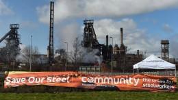 British Steel steht vor dem Kollaps