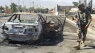 Dutzende Tote und Verletzte bei Selbstmordanschlag