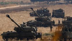Israel reagiert auf Raketenbeschuss aus dem Libanon