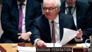 Russlands UN-Botschafter Tschurkin gestorben