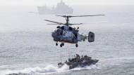 Übung des russischen Militärs im Schwarzen Meer (Archivbild)