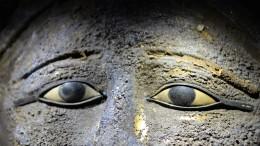 Forscher entdecken goldene Totenmaske
