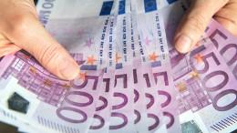 Geldvermögen steigt auf 200 Billionen Euro