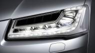 Schau mir in die Augen: Matrix-LED-Scheinwerfer mit Blendfreiem Fernlicht im Audi A8
